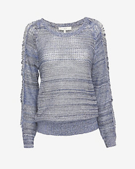 IRO Yana Marled Knit Top