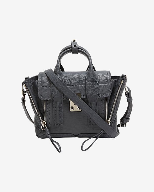 3.1 Phillip Lim Mini Pashli Satchel: Grey