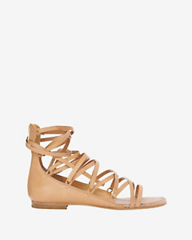 Belle By Sigerson Morrison Tie Up Gladiator Appa Sandal