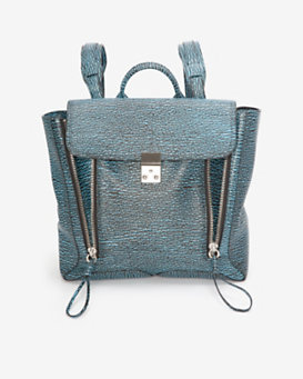 3.1 Phillip Lim Pashli Backpack: Blue