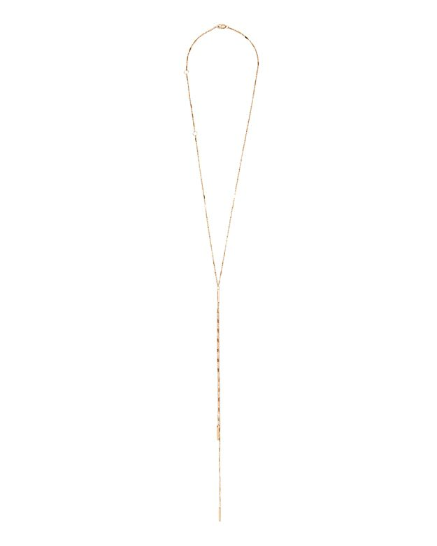 Jennifer Zeuner EXCLUSIVE Aria Baguette Chain Necklace