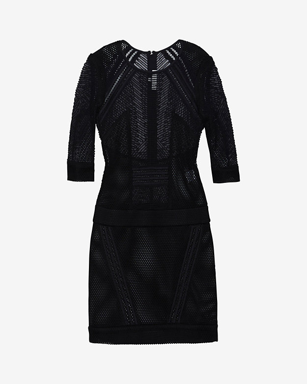 IRO Ashlyn Mesh/Lace Dress