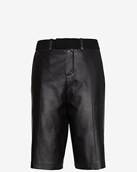 IRO EXCLUSIVE Leather Trouser Short