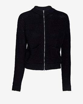 ATM Zipper Sweater Jacket