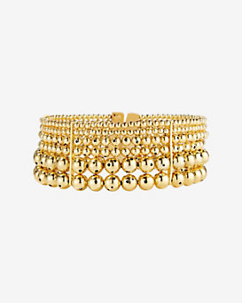 Paula Mendoza Toledo Multi Layer Ball Choker