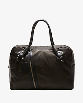 Collection Privée Leather Zipper Tote