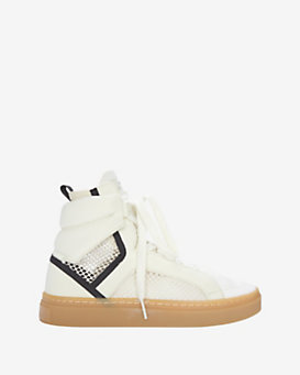 adidas by Stella McCartney High-Top Mesh Sneaker