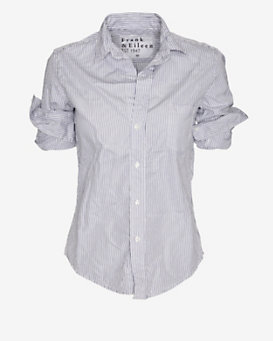 Frank & Eileen Striped Button Down Shirt