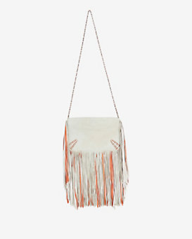 Barbara Bonner Ginger Fringe Crossbody