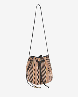 Barbara Bonner Andrea Tribal Mesh Bucket Bag