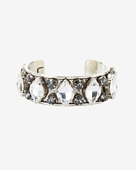 Philippe Audibert Small Crystal Lemon Cuff