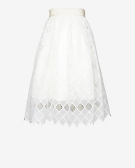 Alexis EXCLUSIVE Diamond Crochet Ball Skirt