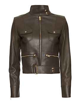 IRO EXCLUSIVE Broome Safari Leather Jacket