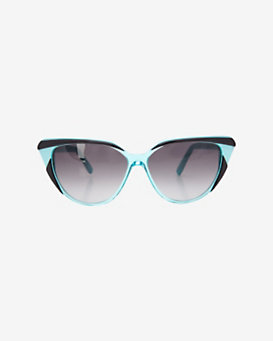Selima Optique Cat Eye Sunglasses: Aqua