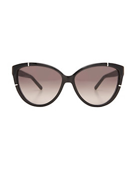 Chloe Black Cat Eye Sunglasses