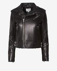 IRO EXCLUSIVE Chaya Leather Jacket: Black