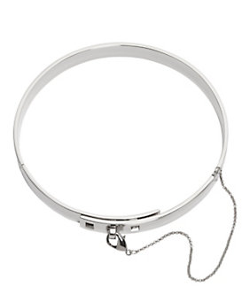 Eddie Borgo Safety Chain Choker: Silver