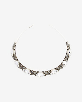 Philippe Audibert Small Lemon Crystal Collar