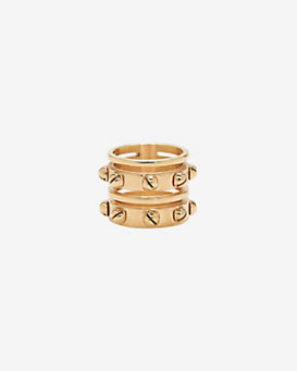Ina Beissner Consuelo Studded Bell Layer Ring
