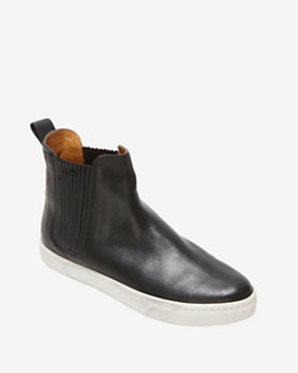 Loeffler Randall Chelsea Slip On Sneaker Boot: Black