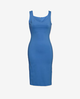 DSquared2 Jersey Tank Dress: Blue