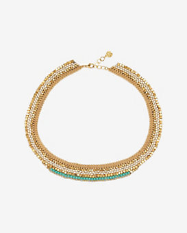 GAS Bijoux Theodora Beaded Collar