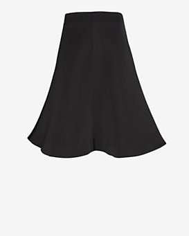 Cameo Satin A-Line Skirt
