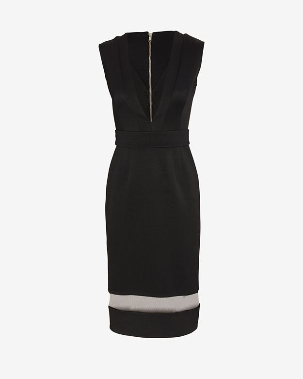 exclusive 		 	 	 	 	 	 	nicholas-exclusive-deep-v-neck-bandage-dress by nicholas