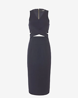 Nicholas EXCLUSIVE Wrap Cut Out Dress