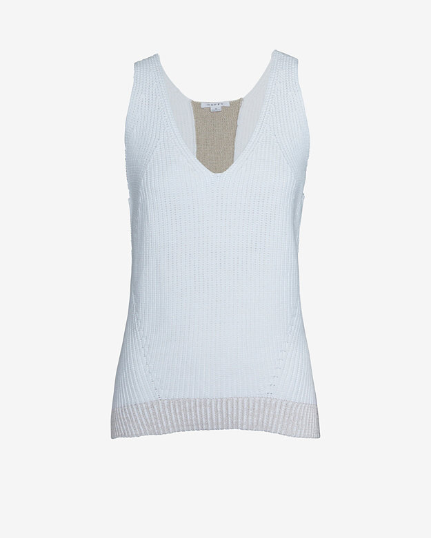 Duffy EXCLUSIVE Ribbed Tank Sweater