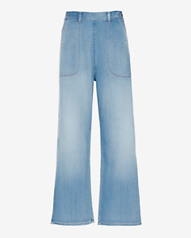 MiH Jeans Chambray Western Pant