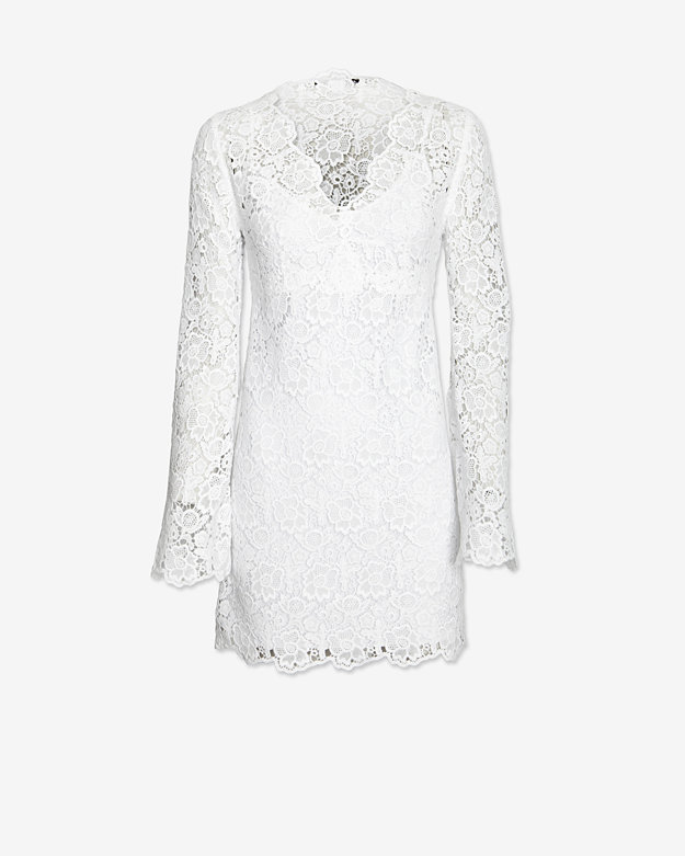 Diane von Furstenberg Crochet Lace Dress