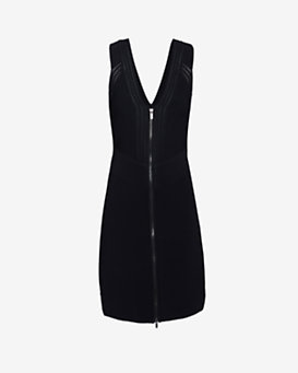 Diane von Furstenberg Barcelona Knit Dress: Black