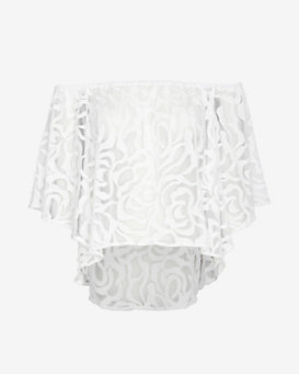 Exclusive for Intermix Off The Shoulder Lace Top