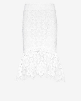 Exclusive for Intermix Trumpet Lace Skirt