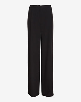 Exclusive for Intermix Wide Leg Pant: Black