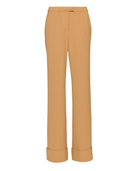 Exclusive for Intermix Cuffed Wide Leg Pant