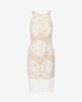 Exclusive for Intermix Kingsley Open Back Lace Dress