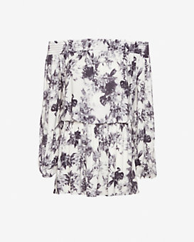 Exclusive for Intermix Easy Day Floral Print Dress