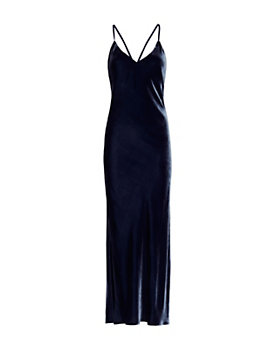 Exclusive for Intermix Addison Velvet Slip Dress