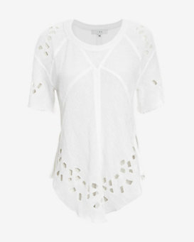 IRO Crochet Detail Blouse