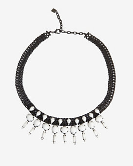 Dannijo Devyn Stone Chain Necklace