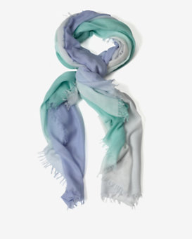 Bajra EXCLUSIVE Ombré Scarf: True Blue