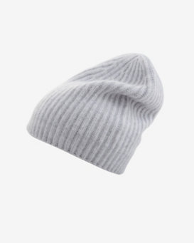 Exclusive for Intermix Cashmere Beanie: Grey