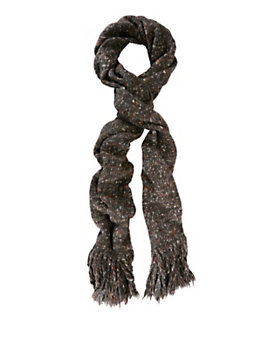 Exclusive for Intermix Long Fringe Flecked Scarf
