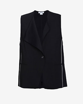 Helmut Lang Pierce Wool Vest
