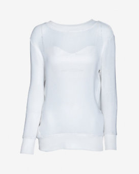 Helmut Lang Space Knit Sweatshirt