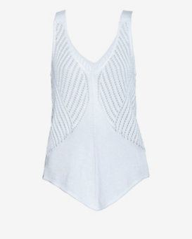 Helmut Lang EXCLUSIVE Fine Cord Pointelle Tank