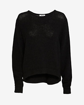 Helmut Lang Lofty Felt Sweater