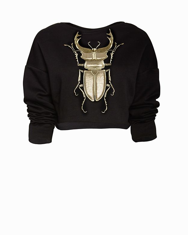 Emma Cook Beetle Bug Sweatshirt